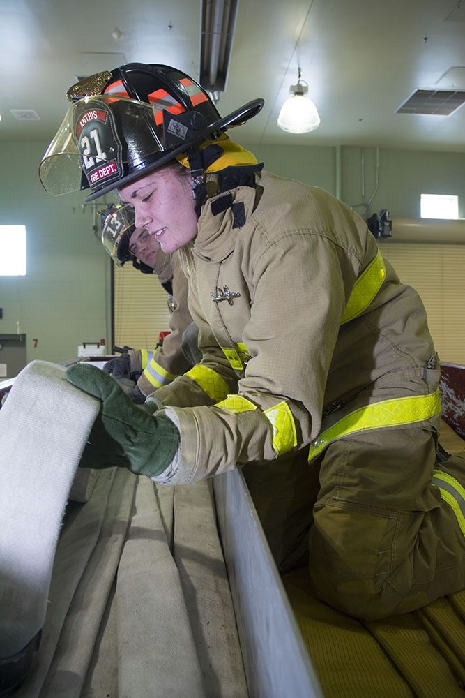 Student in Firefighter science